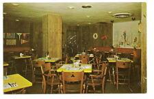 Joliet Il Hotel Louis Cypress Coffee Room Vtg Postcard