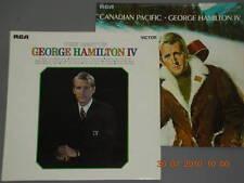 "GEORGE HAMILTON IV - TWO  12"" Vinyl Albums"