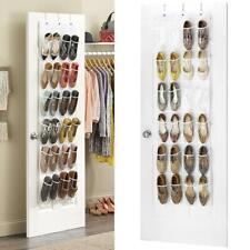 Home Door Back Shoe Organizer Rack Hanging Storage Holder Hanger Bag Closet