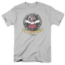 Battlestar Galactica Vampires Badge Mens Short Sleeve Shirt SILVER