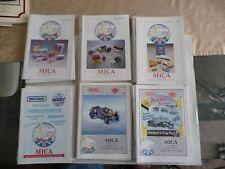 MICA Matchbox International Collectors Association Magazine Volumes