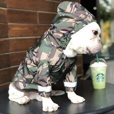 Newly Pet Coat Dog Bape Camo Clothes Puppy Cat Rain Coat Waterproof Jacket Hot