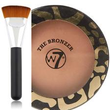 Polvos bronceadores W7 The Bronzer Mate compacto 14 g con brocha plana contorno