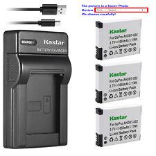 Kastar Battery Slim Charger for AHDBT 001 AHDBT 002 Gopro HD HERO2 Surf Edition