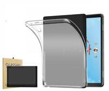"Silicone Soft Flexible sleeve Lenovo Tab M10 10.1"" TB-X605F & Glass Protector"