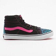 Zapatos señora zapatos Vans zapatos Shoes cortos Leopard patrón azul/rosa nuevo