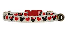 Rojo Negro Blanco Micky & Minnie Heads & Corazones