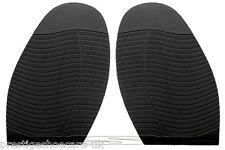 Stick on Soles Black DIY Shoe Repair Supplies Ribbed Grip Hard Wearing Wave Grip