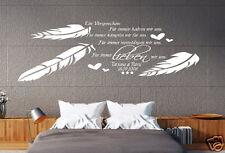Wandtattoo Schlafzimmer Ehe Versprechen wir lieben uns mit Namen Jahrestag pk100