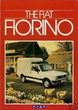 FIAT FIORINO VAN 1985-1987 UK vendite sul mercato opuscolo 127