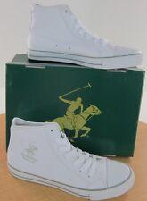 Beverly Hills Polo Club BMS460 White/Silver Mens Shoe NWD Medium
