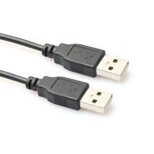 0.3 M 0.5 m 1 M 1.5 M 1.8 m 3 m USB 2.0 Type A Male to Male Data Sync câble de charge