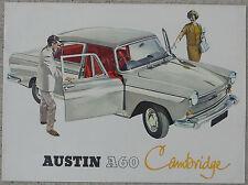 Austin A60 Cambridge brochure  8 page