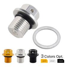 Magnetic Oil Drain Plug Bolt for YAMAHA FJR1300 XJ6 XJR400 XJR1200 XJR1300 14mm