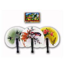 Oriental pieghevole in viaggio Carta Fan Floreale Tradizionale Cherry Blossom Birds