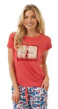 Jockey USA Originals Womens Luxury Pyjama T-Shirt Nightwear