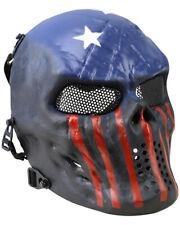 Kombat Full Face Hard Shell Mask Mesh Eye Panels For Airsoft Shooting Outdoors