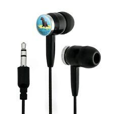 Looking For Next Big Break Surfing Dogs Novelty In-Ear Earbud Headphones