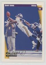 1997 Upper Deck Collector's Choice #300 Qadry Ismail Minnesota Vikings Card