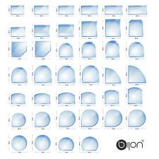 Kamin Glasbodenplatte Funkenschutz Kaminplatte Glas Ofen Platte Bodenplatte ESG