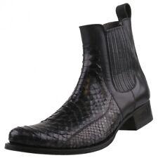 Nuevo SENDRA BOTAS Zapatos hombre 10855 Botines Pitón Cuero Zapatos Botas