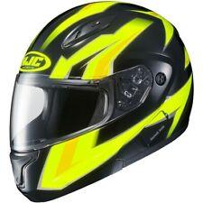 HJC CL-MAX 2 Ridge Modular Street Helmet Hi-Vis Yellow/Black