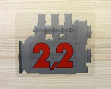 PORSCHE 911 EARLY 2.2 ENGINE STICKER - VINTAGE REAR SCREEN DECAL
