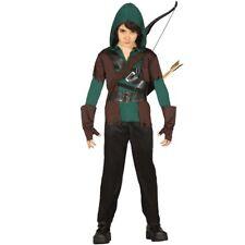 Kinder Robin Hood Kostüm Kinderkostüm Bogenschütze Faschingskostüm Räuber Outfit