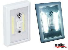 LED Wandleuchte Kabellos Lichtschalter Möbelleuchte Leuchte Schalter Batterie