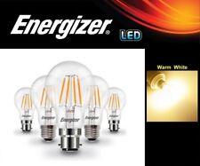 Energizer Dimmable LED Light Bulbs GLS (40w/60w/75w) BC B22 ES E27 LED FILAMENT