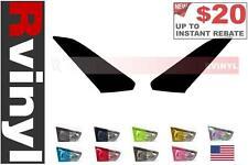 Rtint Headlight Tint Precut Smoked Film Covers for Nissan GT-R 2009-2016
