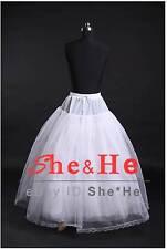 Black White Hoopless Wedding Ball Gown Crinoline Petticoats Prom Bridal Slip