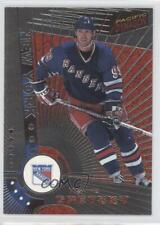 1997-98 Pacific Dynagon Silver #78 Wayne Gretzky New York Rangers Hockey Card