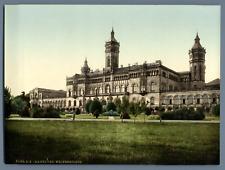 Hannover. Welfenschloss. PZ vintage photochromie, Deutschland photochromie, vi