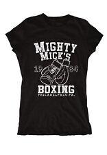 Mighty Mick´s Boxing Girlie Rocky MMA Apollo Kult Boxen Mr T Ali Stallone