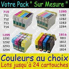 Cartouches d'encres XL non OEM Epson compatibles séries 715 1285 1295 1816
