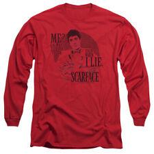 Scarface Truth Mens Long Sleeve Shirt