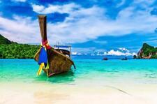 PHUKET THAILAND SKYLINE GLOSSY POSTER PICTURE PHOTO PRINT island beach view 3728