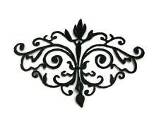 Black Iron-on Applique Embroidery #122 Tutu Dance Stage Costume Trim