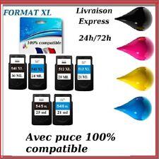 Cartouche compatible Canon PIXMA PG CL 512 513 540 541 545 546 XL LIVRAISON 48H