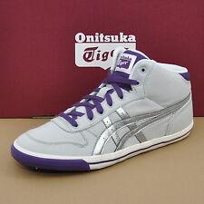 Asics Onitsuka Tiger unterknie GS grises zapatos zapatillas/PLATA/Violeta c4b0n