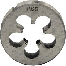 Filiere tonde HSS passo FINE WHITWORTH BSF per metalli