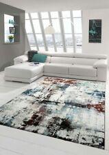 Salon Designer Tapis contemporain Tapis moquette Heather Splash design Turquoise