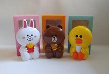 HK McDonald x LINE Friends Portable Fan - CONY, BROWN & SALLY NIB
