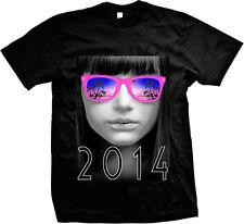 Spring Break 2014 Sunglasses Shades Girls Mens T-shirt