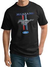 Mens Tall T-Shirt Ford Mustang Shirt Mustang Stripe