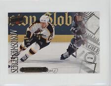 1997-98 Donruss Priority Postcards #17 Sergei Samsonov Boston Bruins Hockey Card