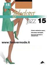 3 medias de mujer Filodoro pura apretado mate medias con corpiño art Jazz 15