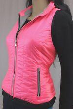 PETITE Size Ralph Lauren Pink Light Puffer Vest ~Full Zip~ NWT~