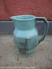 18116 alte Kakaokanne Einsatz Art Deco expressiv gemalt Keramik cocoa jug